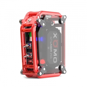 Mod XOMO GT Laser 255S 150W Box Mod 3500mAh Red