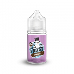 Lichid 25ml Little Frost - Grape Ice 0mg