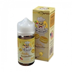 Lichid 80ml Mr Macaron - Vanilla Marshmallows 0mg
