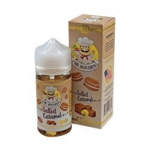 Lichid 80ml Mr Macaron - Salted Caramel 0mg