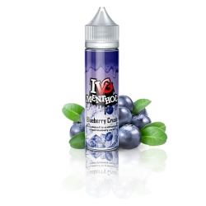 Lichid 50ml IVG MENTHOL BLUEBERRY CRUSH 0MG
