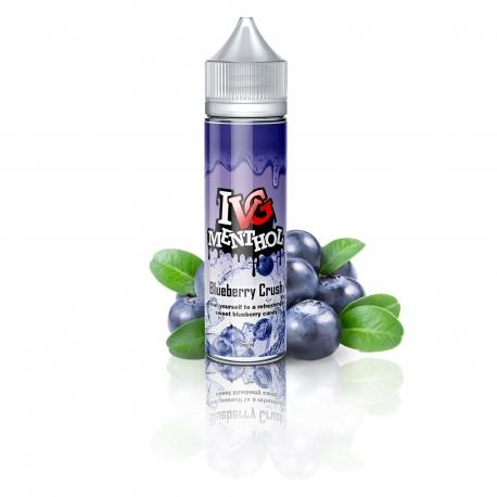 Lichid 50ml I VG MENTHOL BLUEBERRY CRUSH 0MG