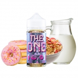 Lichid 100ml The One by Beard Vapes - Donut Cereal Strawberry Milk 0mg