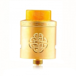 Dripper Hellvape Aequitas 24 BF RDA Atomizer Gold