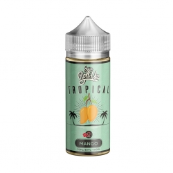 Lichid 100ml Juice Roll Upz - Tropical Mango 0mg Shortfill