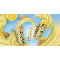 Lichid 50ml Creamy Clouds The Originals Lemon Biscuits 0mg Shortfill