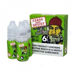 Lichid 10ml Cease and Desist - Sour Apple O's - 6mg