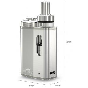 Kit Eleaf iStick Pico Baby Starter Kit cu GS Baby Tank 2ml 1050mAh Argintiu