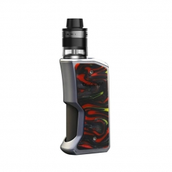 Kit Aspire Feedlink Revvo Squonk Mod Kit cu Revvo Boost Tank Resin (Silver/Sunset Red)