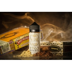 Lichid 100ml VOAK 1963 Reserve Rich Hazelnut Infused Cuban Cigar with Sweet Creamy Tones 0mg