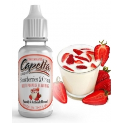 Aroma STRAWBERRIES AND CREAM, Capella Flavors, 13ml