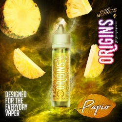 Lichid PAPIO - Origins by Twelve Monkeys, 50ml, 0mg