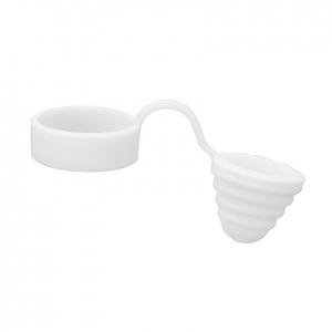 Capac silicon pentru Drip Tip, White