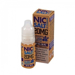 Lichid Blueberry Slush by Flawless Nic Salt, 10ml, 20mg