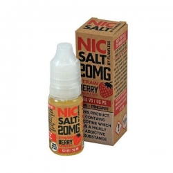 Lichid Strawberry by Flawless Nic Salt, 10ml, 20mg