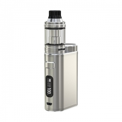 Kit iStick Pico 21700 ELLO 2ml, Baterie Inclusa, Brushed Silver