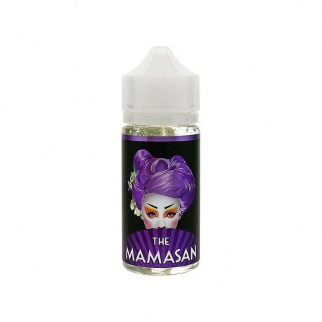Mamasan - Purple Cheesecake 0mg 100ml Shortfill