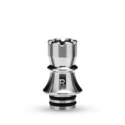 KIZOKU Chess Series 510 Drip Tip 1pc (Silver,Rook)