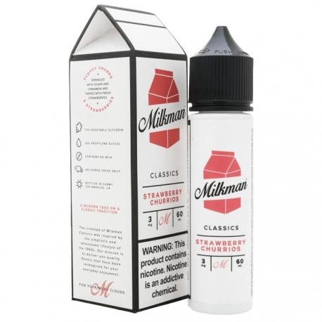 The Milkman Classics Strawberry Churrios 50ml 0mg