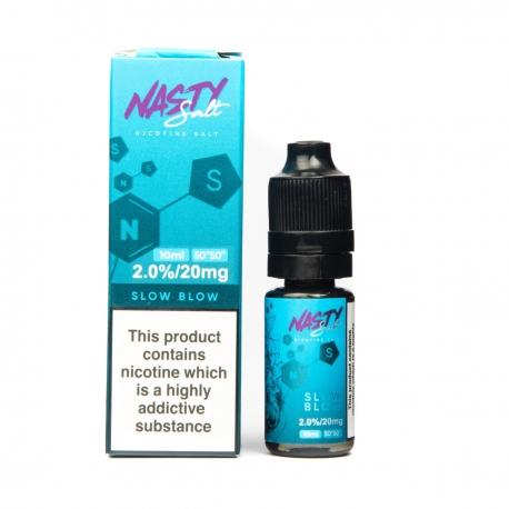 Nasty Juice Nasty Salt Slow Blow 20mg 10ml e-liquid