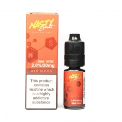 Lichid Bad Blood Nasty Juice 10ml NicSalt 20 mg/ml Nasty Salt