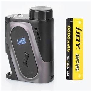 IJOY CAPO 100W 20700 Squonker MOD 3000mAh (Gun Metal)