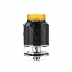 Atomizor THC Tauren RDTA 2ml Black Stainless Steel