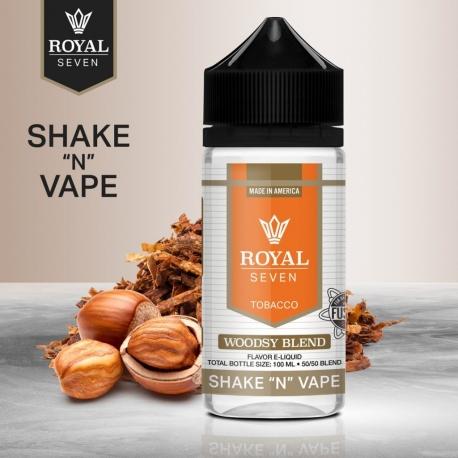 Royal Seven : Shake and Vape - Woodsy Blend - 50ml
