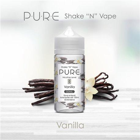 P.U.R.E : Shake and Vape - Vanilla - 50ml