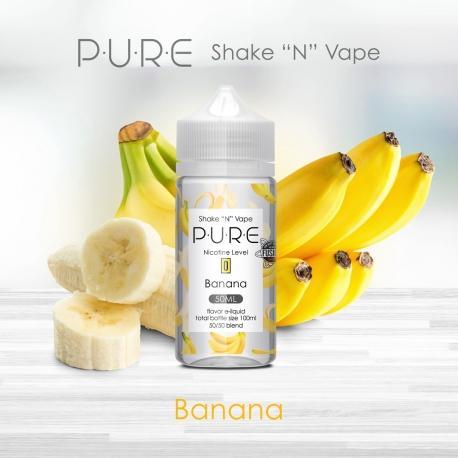 P.U.R.E : Shake and Vape - Banana - 50ml