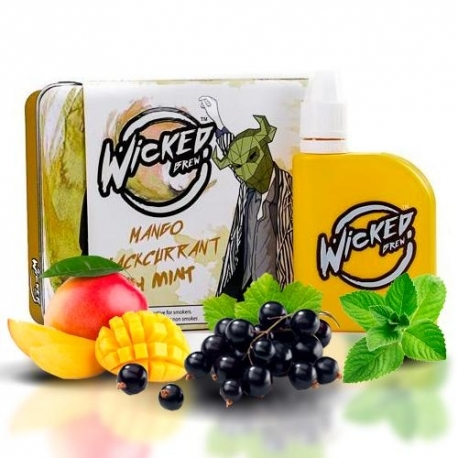 WICKED BREW MANGO BLACKCURRANT 50ML