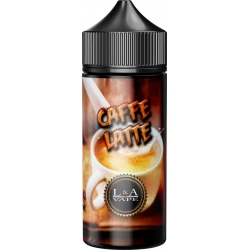 Lichid Caffe Latte (Coffee) L&A Vape 100ml 0mg