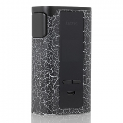 Mod IJOY Captain PD270 234W Cracks White and Black TPD Edition