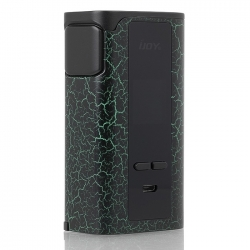 Mod IJOY Captain PD270 234W Cracks Green and Black TPD Edition