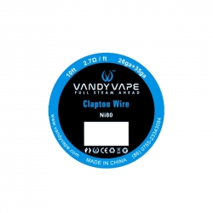 Rola Vandyvape Clapton Ni80 26GA 2 +35GA 3m