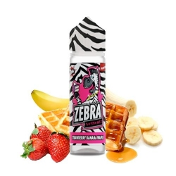 ZEBRA JUICE DESSERTZ STRAWBERRY BANANA WAFFLE 50ML