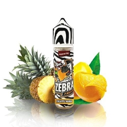 ZEBRA JUICE FRUITZ PINEAPPLE MANGO 50ML