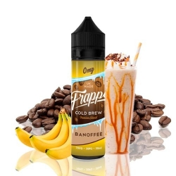 Lichid Banofee Coffee Frappe Cold Brew 50ml 0mg