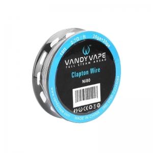 Vandyvape Clapton Ni80 Wire 26GA+35GA 3m