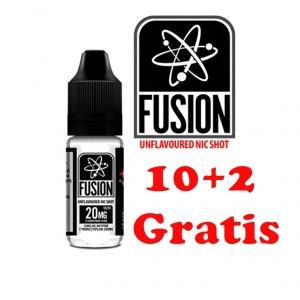 Pachet 10+2 Nicotine Shot FUSION, 20mg/ml, 10ml