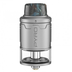 Atomizor RDTA Pyro V3 Vandy Vape Frosted 4ml Grey