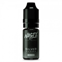 Lichid Silver Blend Nasty Juice 10ml NicSalt 20 mg/ml Nasty Salt