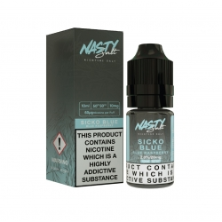 Lichid Sicko Blue Nasty Juice 10ml NicSalt 20 mg/ml Nasty Salt