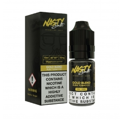 Lichid Gold Blend Nasty Juice 10ml NicSalt 20 mg/ml Nasty Salt