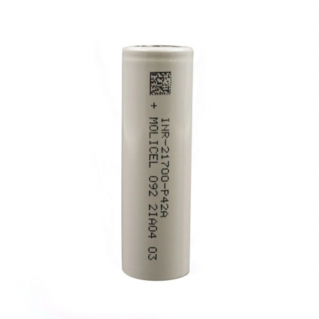 Molicel P42A 21700 4000mAh 45A High-drain Battery