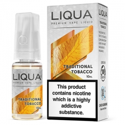 Lichid Liqua Traditional Tobacco 10ml 18mg
