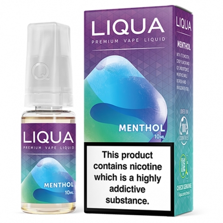 Lichid Liqua Menthol 10ml 12mg