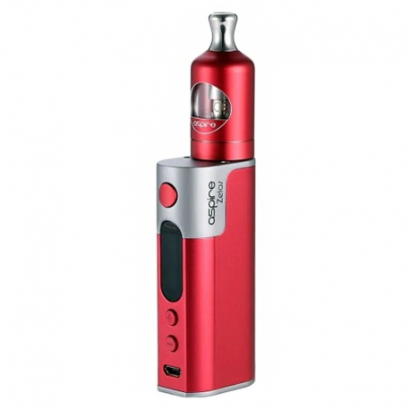 Kit Aspire Zelos 50W 2500mAh cu Atomizor 2ml Nautilus 2 (Red)