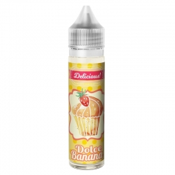 Lichid Dolce Banana 0mg 40ml King's Dew