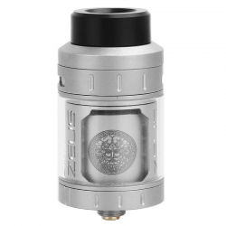 Atomizor Zeus RTA Geekvape 2ml Single Coil (Silver)
